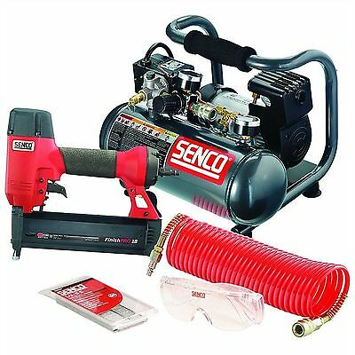 "Brand New 2"" FINISHPRO 18 BRAD NAILER AND PC1010 COMPRESSOR KIT - PC0947"