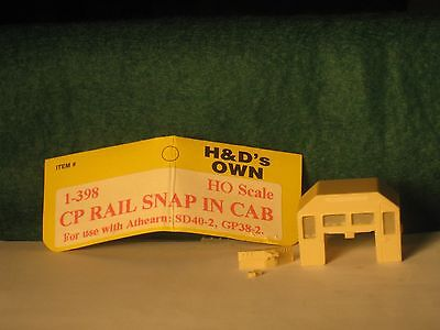 HO H&D CP Rail CPR Canadian Pacific Snap in Cab for Athearn SD40-2 & GP 38-2