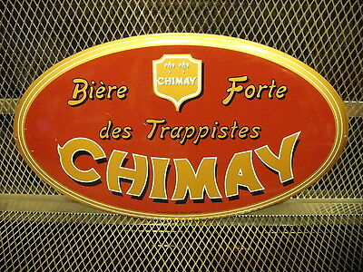 CHIMAY PERES TRAPPISTES ~ NEW ~ Biere Forte ~ Beer Tacker Advertising Sign