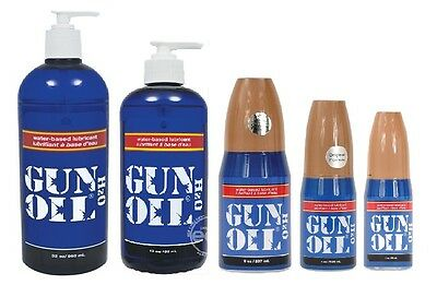 Gun Oil H2O Water Based Hi Tech Lube Long Lasting Personal Lubricant