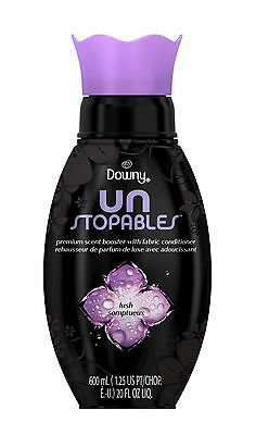 1 Downy Unstopables LUSH Premium Scent Booster Fabric Conditioner 20 fl oz