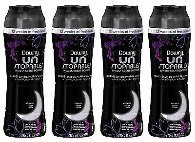 4 Downy Unstopables DREAMS In-Wash Scent Booster 13.2 oz