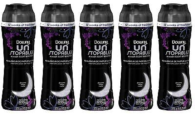 5 Downy Unstopables DREAMS In-Wash Scent Booster 13.2 oz