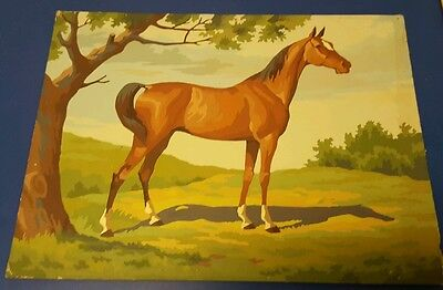 Vintage Horse paint by number