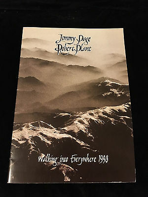 Jimmy Page-Robert Plant-Walking Into Everywhere Tour-Concert Program Book-1998