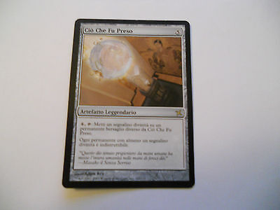1x MTG Ciò che fu Preso-That Which Was Taken Magic EDH BOK Kamigawa ITA x1