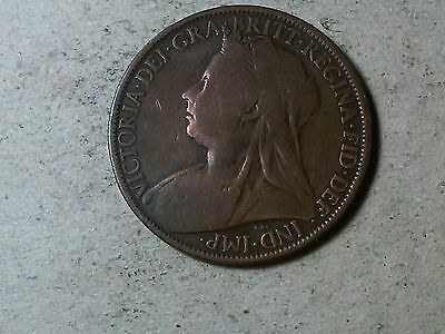 Great Britain 1 penny one penny 1897 Victoria