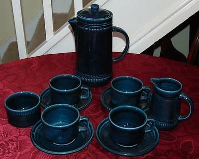 Prinknash Abbey Coffee Set (11 Pieces) In Good Condition