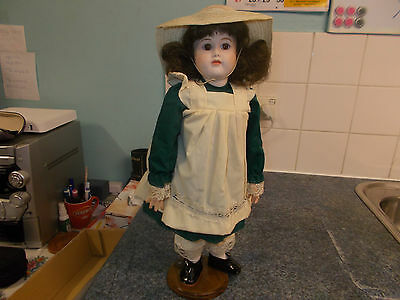 """Brodie 16"""" Collectors Fully Joined Porcelain Doll Unmarked."""