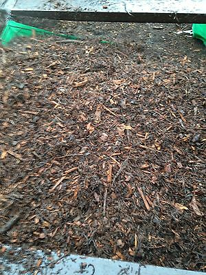 3 X Bulk Bags Of Woodchip,Mulch,free Local Delivery,path,allotment