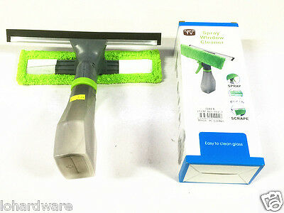 3in 1 Spray Squeegee Window Glass Car Windshields Mirrors Cleaning -Brand New