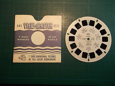 VIEWMASTER REEL No. 165    SEVEN 3 DIMENSIONAL PICTURES in FULL-COLOR KODACHROME