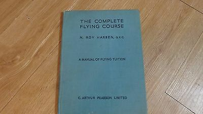 ww2 the complete flying coarse instruction manual/pilots/raf