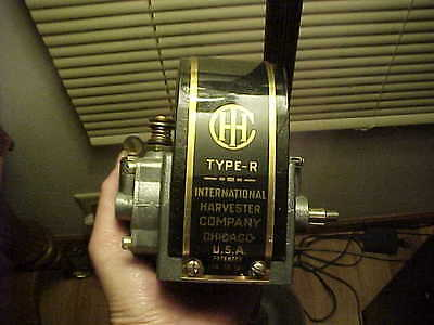 Nice Rebuilt IHC International Harvester Type R Gas Engine Magneto Type M Engine