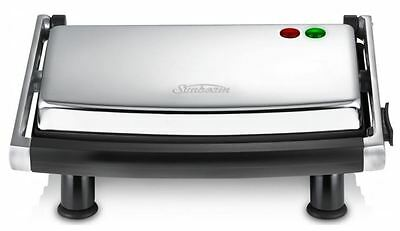 Sunbeam Cafe Grill Contact Sandwich Maker Press Grill Toaster Non Stick New