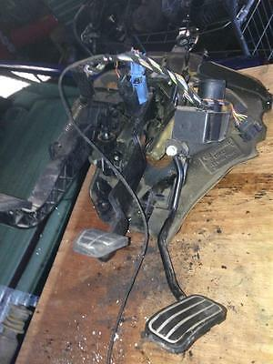 Vw T4 Transporter 2.5 Tdi Acv 1997 Accelerator, Brake, Clutch Pedal Assembly