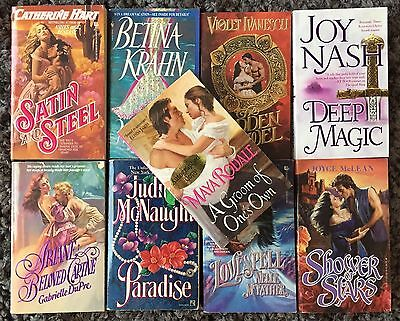 9 x HISTORICAL Romance Novel Bundle | Bulk Lot ~ Rodale, McNaught, Krahn++