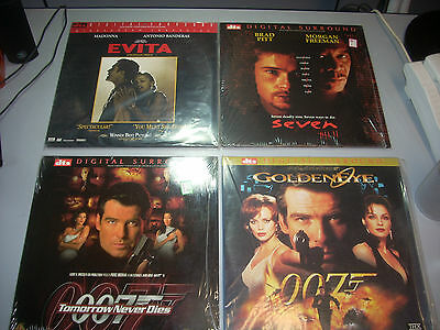 Laserdisc Dts Films Originali Usa