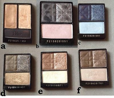 CHRISTIAN DIOR Sombra ojos 3 colores Smoky eyes palette 6 TO CHOOSE