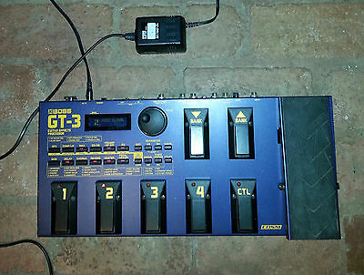Boss GT3 guitar multi effects pedal classic, solid, great condition!