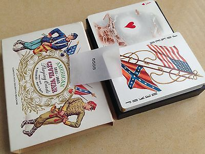 American Civil War Playing Cards Fournier Mint Cond.