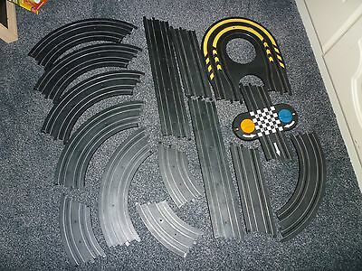 Job Lot 15 Pieces Micro Scalextric Track Inc Hairpin