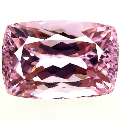 43.46ct FLAWLESS EARTH MIND BEST LIGHT PINK COLOR NATURAL KUNZITE AWESOME GEM