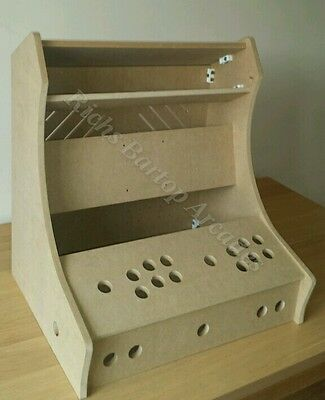 Classic Bartop Arcade Machine - 2 Player Diy Flat Pack Kit - 12Mm Mdf