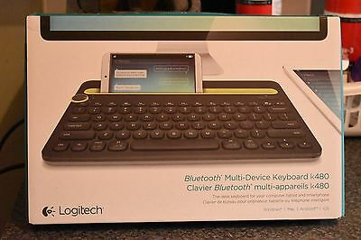 Logitech K480 (920-006342) BLUETOOTH Keyboard. BOXED