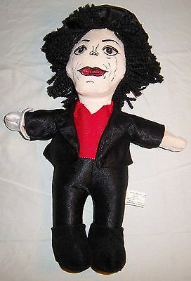 "Michael Jackson 14"" Plush Doll. Carousel Soft Toys"