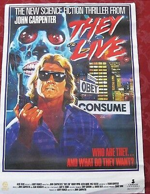 Video Movie Poster, They live