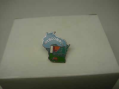 Wisconsin  State Pin-New-Check It Out-