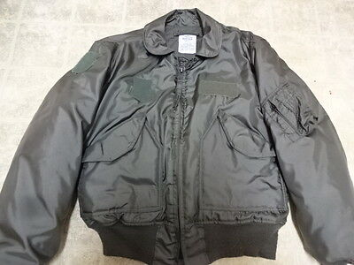 Made By Avirex Vintage 1984 U.s Airforce Flight Jacket Cwu 45P Great Cond M