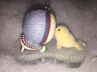 Hallmark Ornament 1983 FROSTY FRIENDS 4th In Series