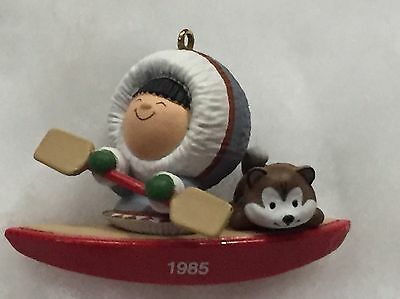 Hallmark Ornament 1985 FROSTY FRIENDS 6th In Series