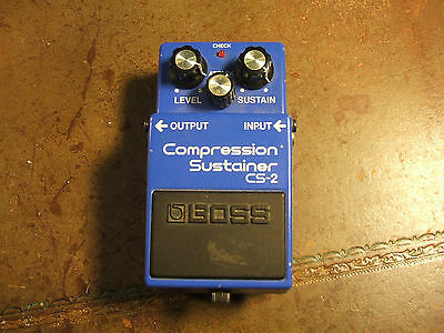 BOSS CS-2 Compression Sustainer pedal