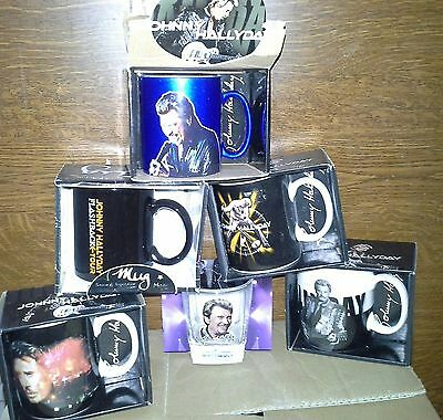 Mug Lot Johnny Hallyday