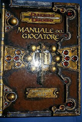 ★ D&D ITA★ Dungeon and Dragons 3.5 ★ MANUALE DEL GIOCATORE ★ Manuale Base I