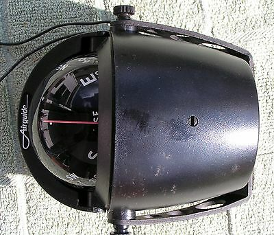 Vintage Airguide, 66B Boat Compass, Lighted, Electric, Navigation