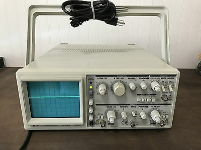 EZ Digital Co OS-5060A Dual Channel 60 MHz Oscilloscope, used with power cord