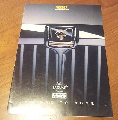 Car Choice Supplement on Approved Used Jaguars 1990s XJ40 XJ6 Sovereign XJS