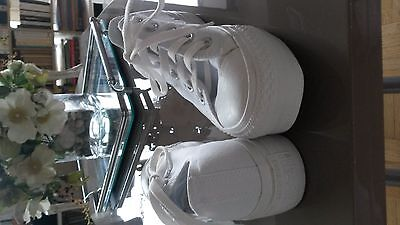 Baskets Compenses Converse Blanc 37