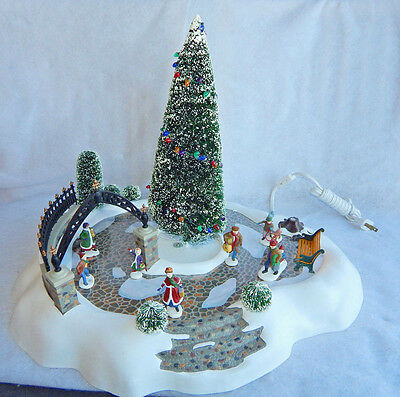 Department 56 Christmas All Around The Park Village Animated Accessory #001