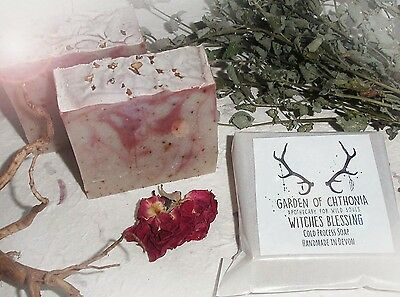 WITCHES BLESSING ~Cold Process Soap~ Ritual/Pagan/Herb/Wicca/Spell/Frankincense