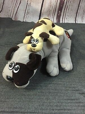 Pound Puppies Dog And Newborn Puppy Vintage Tonka As Is