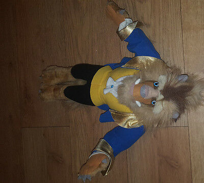"""Disney Exclusive Beauty & Beast Doll Princess Soft Toy Approx 14""""."""