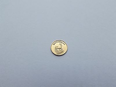 Krugerrand  Miniature Solid Gold Coin