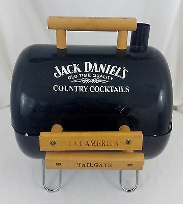 Jack Daniels Country Cocktails Promo Portable Tailgate Charcoal BBQ Smoker Grill
