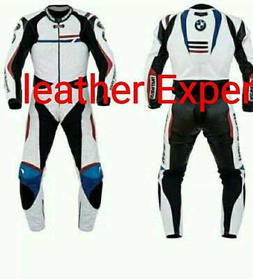 Bmw Motorbike/motorcycle Leather Suit ( 2016) Ce Proved Full Protection.