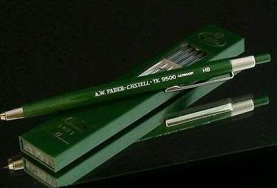 Genuine Faber-Castell TK9500  Mechanical Pencil Green Resin Function Imma   #01